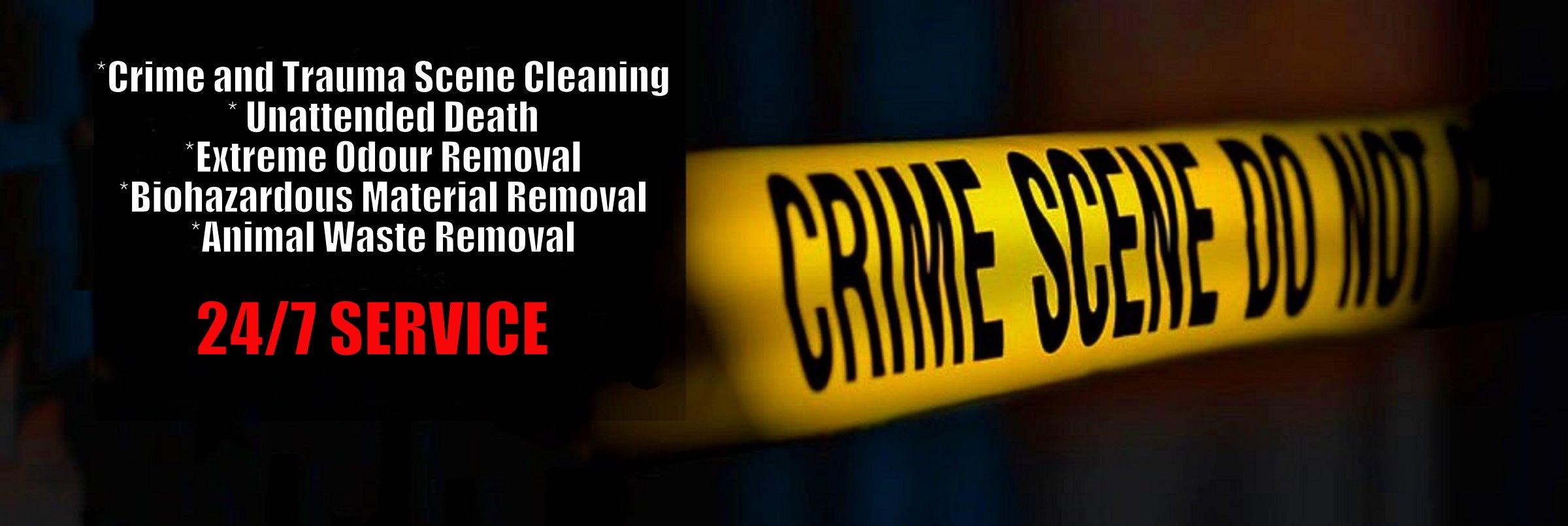 trauma scene cleaning ottawa